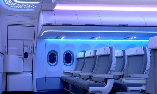 Auch im Linienflugzeug wird Komfort immer wichtiger