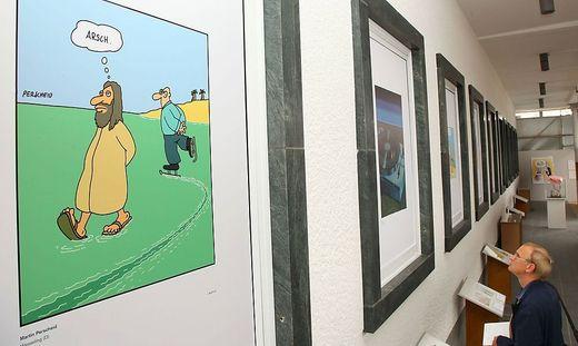 Die Cartoons von Martin Perscheid waren in vielen Magazinen und Zeitungen zu sehen