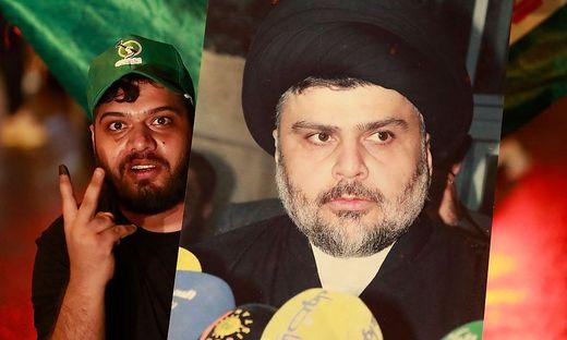 Der Geistliche Muqtada al-Sadr