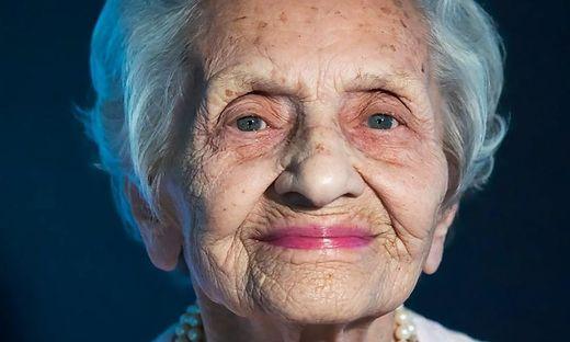Leopoldine Hermann, geboren 1924