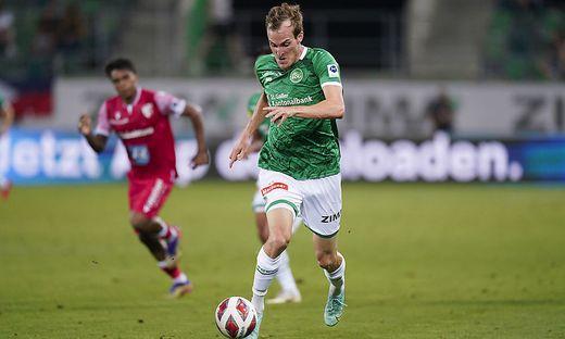 Der Kärntner Fabian Schubert kam im Cup auf Touren, nur in der Liga fehlt ihm noch der Premierentreffer