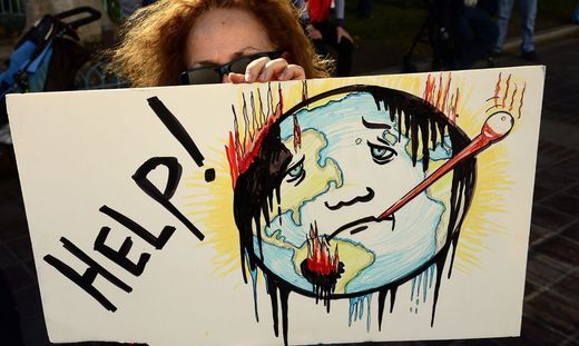 USA PROTEST CLIMATE SUMMIT