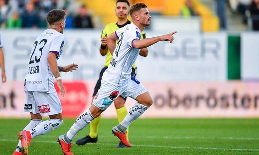 Turgay Gemicibasi (rechts) erzielte den verdienten Ausgleichstreffer zum 1:1.
