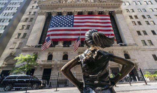 The Fearless Girl vor der New Yorker Börse: Echte New Yorker sind per se widerständig