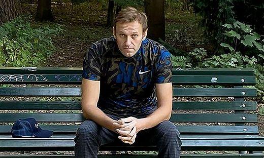 Der vergiftete Kremlkritiker Alexei Nawalny