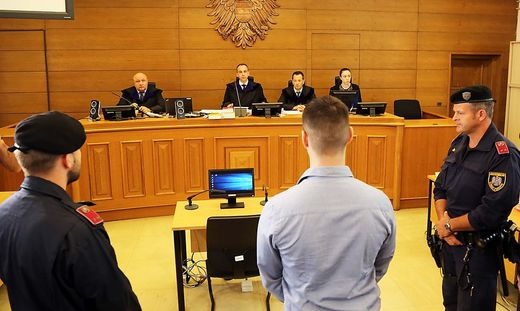 Mordprozess am Landesgericht Klagenfurt