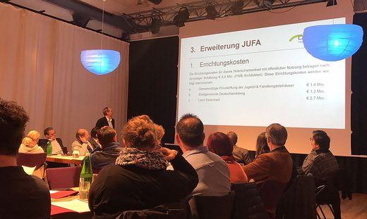 Bei der Gemeinderatssitzung in Deutschlandsberg wurde ausführlich diskutiert