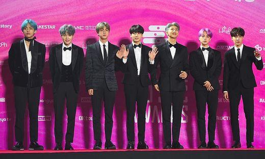 Die koreanische Boyband BTS