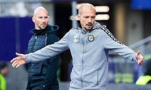 FUSSBALL TIPICO-BUNDESLIGA GRUNDDURCHGANG: FK AUSTRIA WIEN - SK PUNTIGAMER STURM GRAZ