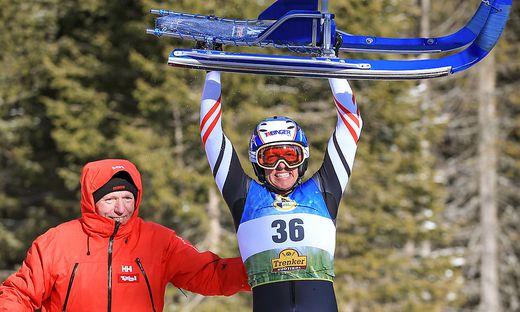 Michael Scheikl (rechts) hat beim Weltcup-Finale in Umhausen noch die Chance auf den Gesamtsieg