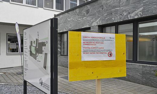 Zwei Ärzte und 50 Mitarbeiter des Krankenhauses Spittal befinden sich in häuslicher Quarantäne