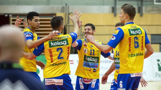 VOLLEYBALL - AVL, Aich/Dob vs Amstetten