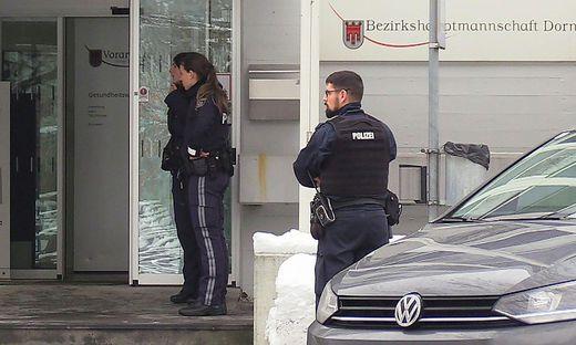 Tatort Bezirkshauptmannschaft: Hier verübte der Türke die Bluttat
