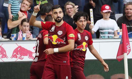 FUSSBALL TIPICO BUNDESLIGA / GRUNDDURCHGANG: RED BULL SALZBURG - SK RAPID WIEN