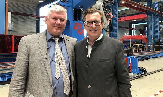 Peter Zeman und Werner Kollau