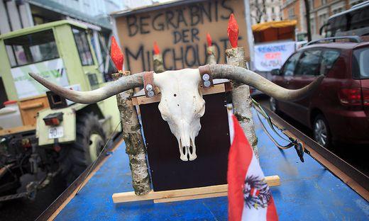 AKTIONSTAG IG MILCH 'ENDE DER MILCHQUOTE'