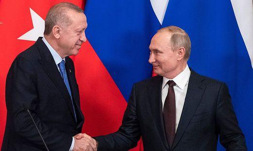 Erdogan und Putin einigten sich