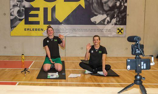 UVC-Duo Anna Oberhauser und Linda Peischl