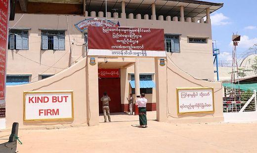 Insassen des Hpa-An-Gefängnisses im Bundesstaat Karen (Osten) gelang der Ausbruch