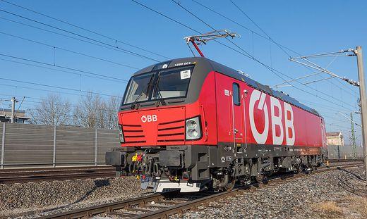 """Die neue Vectron-Lok der ÖBB ist eine """"Villacherin"""""""