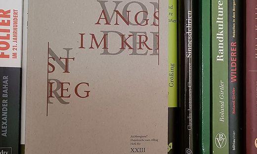 Leopold Toifl, Angst im Krieg, Aichbergiana, 2019, 108 Seiten, 15 Euro