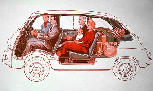 Das Raumwunder Fiat 600 Multipla