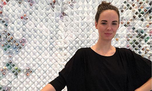 Laura Suppan designte eine Installation fürs Weiße Haus