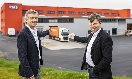 PMS neue Fertigungshalle St. Stefan Lavanttal November 2019