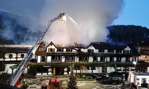 Brand in Drei-Sterne-Restaurant im Schwarzwald