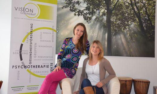 Die Vereinsgründerinnen Tanja Tschuchnigg und Nadine Wagner