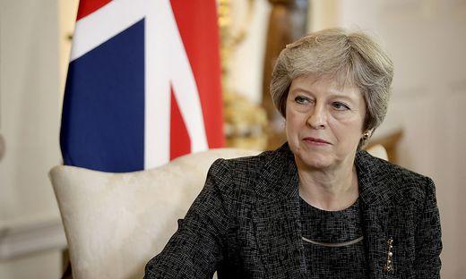 Theresa May in Nöten