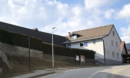 Das Gebäude der Bekenntnisgemeinschaft in Kapfenberg