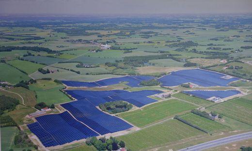 Refernezprojekt für Big Solar bei Graz, Solaranlage im dänischen Silkeborg