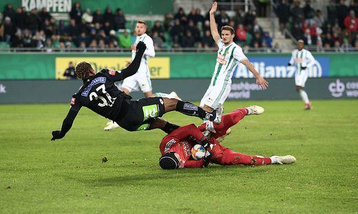 Rapid Wien gegen Sturm