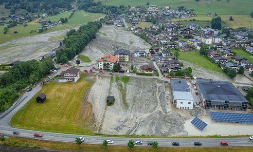 60 bis 70 Häuser von Mure getroffen