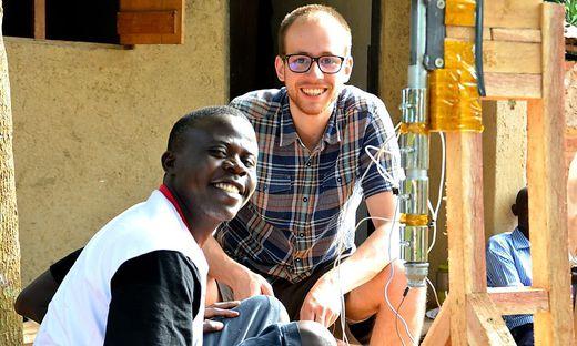Sören Lex in Uganda
