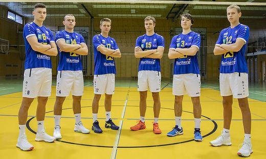 2020: Maximilian Bruchmann, Matthias Glatz, Markus Klement, Florian Gaar, David Maierhofer, Lukas Glatz (von links)