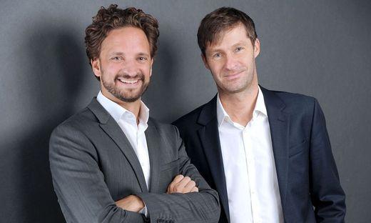 Tyromotion-Chefs David Ram und Alexander Kollreider