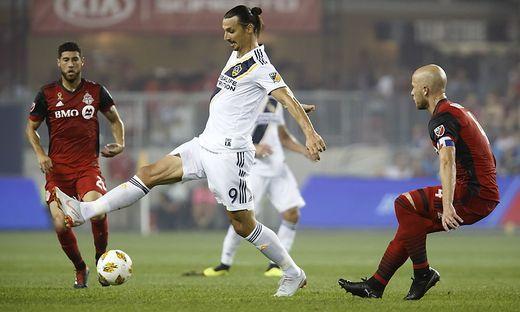 Zlatan Ibrahimovic traf  zum 500. Mal