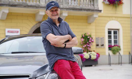 Erich Glavitza kommt nach wie vor gerne nach Kapfenberg