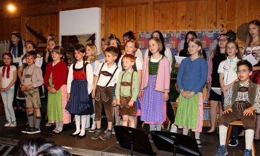 Die Kinder begeisterten mit ihren Darbietungen das Publikum