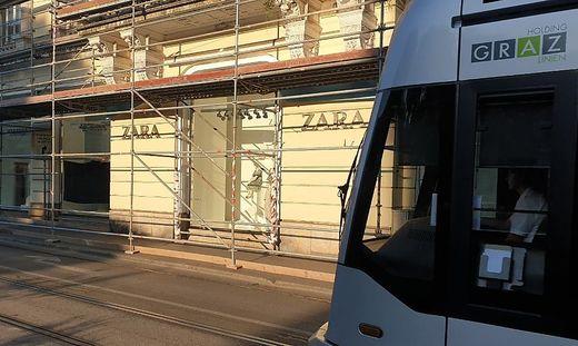 Die 2004 eröffnete Zara-Filiale wird schließen - wohl Ende des Jahres
