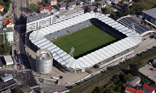 FUSSBALL - BL, Luftaufnahmen