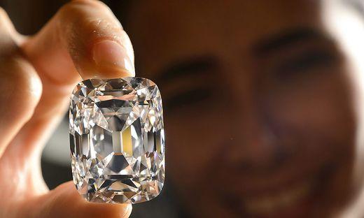 Viel Geld wird in Diamanten investiert