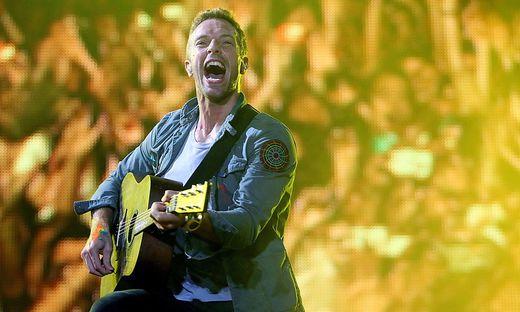 Chris Martin von Coldplay