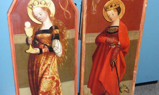Konnten von Carabinieri sichergestellt werden: Altarbilder aus Bad St. Leonhard