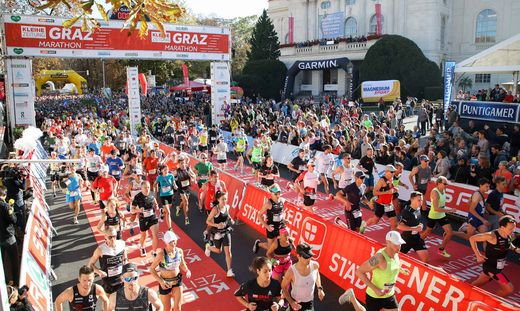 RUNNING - Graz Marathon 2019
