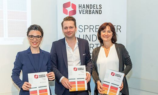 Christine Antlanger-Winter (Google), Rainer Will (Handelsverband), Petra Kacnik-Süß (MindTake Research)