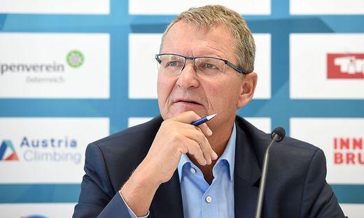 Präsident des Österreichischen Alpenvereins (ÖAV), Andreas Ermacora
