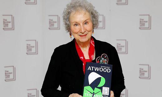 Margaret Atwood gehört zu den wenigen zweimaligen Gewinnern des Booker-Preises